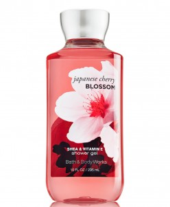 Bath and Body Works New Japanese Cherry Blossom Shower Gel