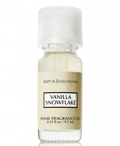 Bath and Body Works Vanilla-Snowflake-Home-Fragrance-Oil
