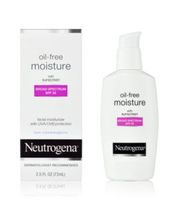Neutrogena Oil Free Moisture with sunscreen Broad Spectrum SPF35