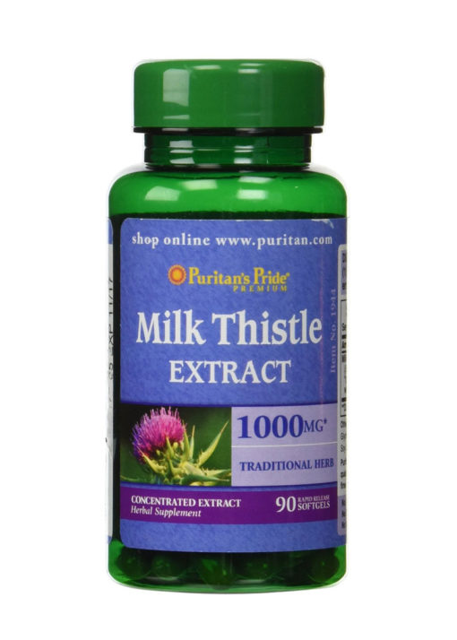 Puritans-Pride-Silymarin-Milk-Thistle-Extract-1000-mg-90-Softgels