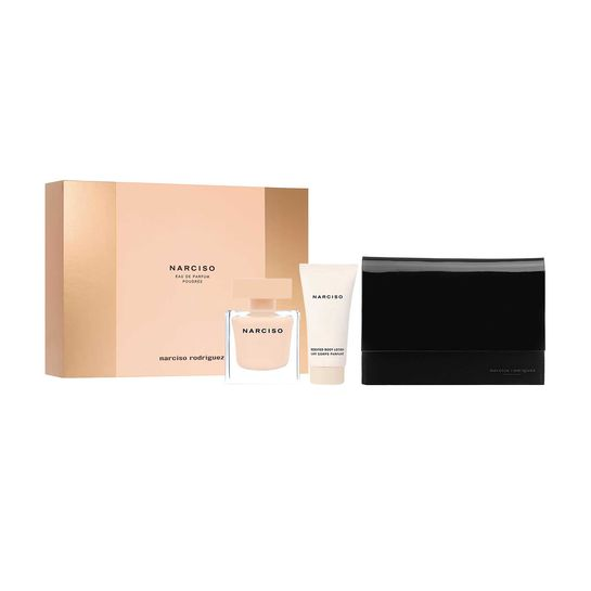 narciso rodriguez narciso poudree gift set 50ml. Black Bedroom Furniture Sets. Home Design Ideas