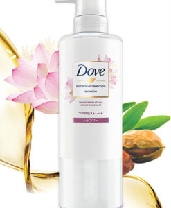 dau-goi-dove-botanical-selection-lotus-extract-jojoba-oil-500g